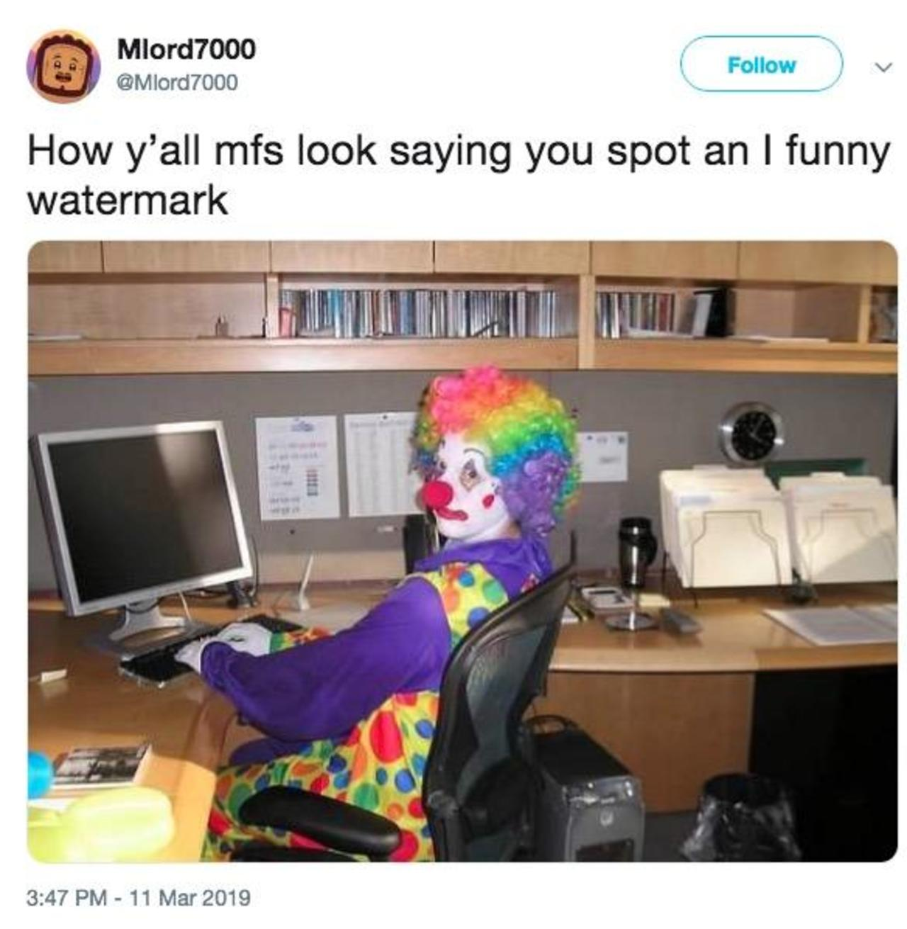 a-clown